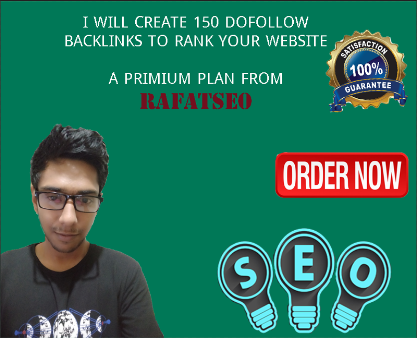 Create 150 high quality dofollow contextual backlinks