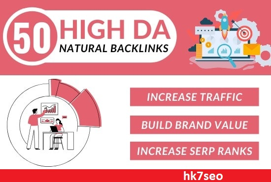 I will make high da DOFOLLOW SEO BACKLINKS or google top ranking
