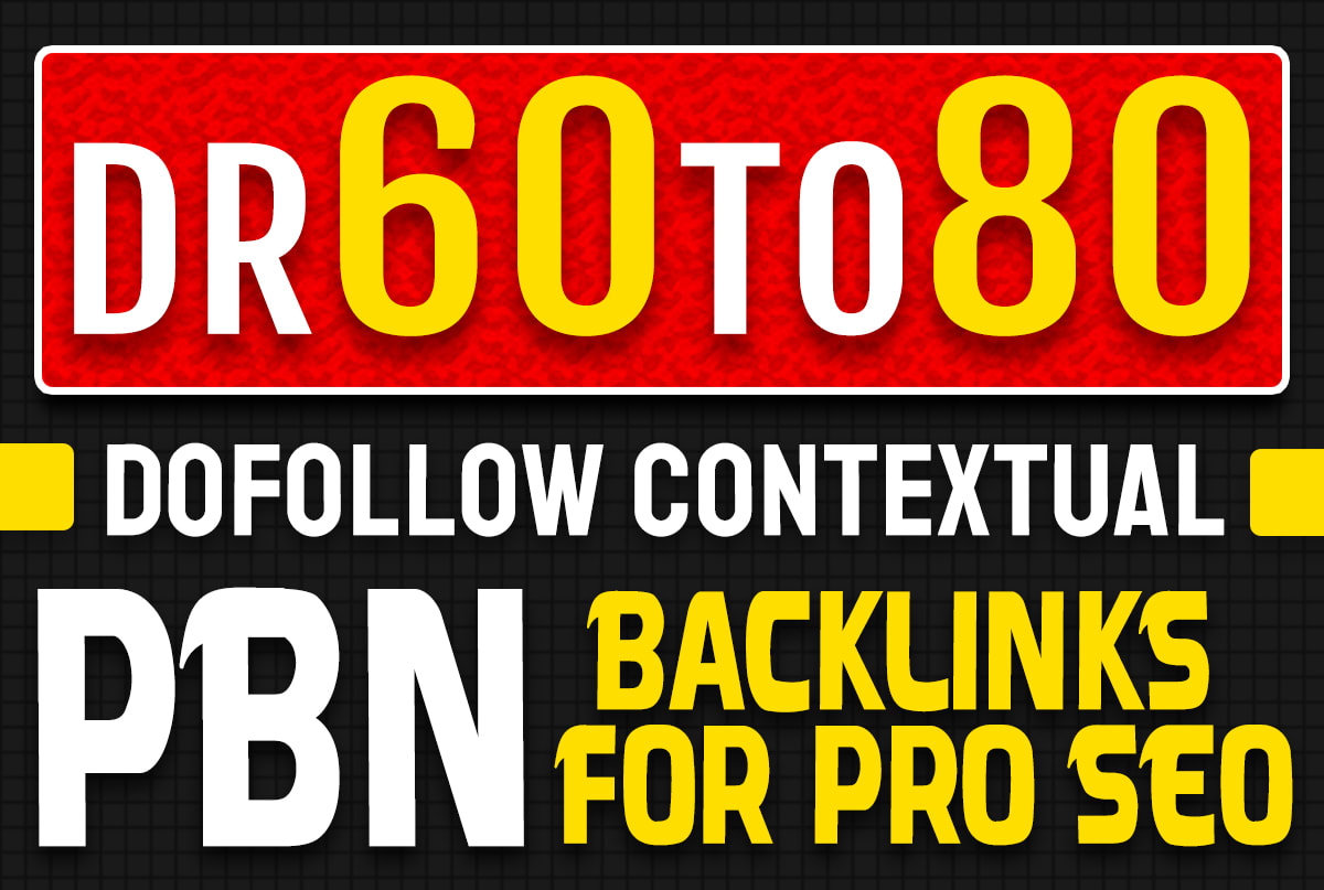 I will make high domain rating dofollow backlinks for pro off page seo