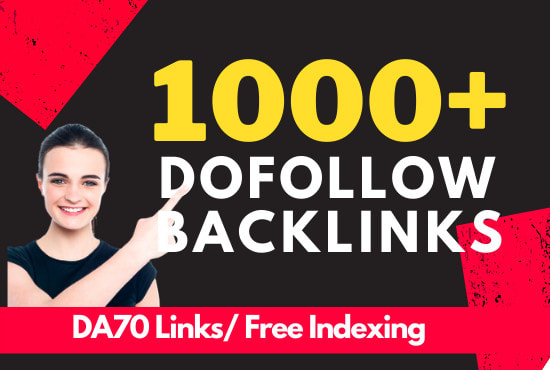 I will high quality contextual SEO dofollow backlinks service