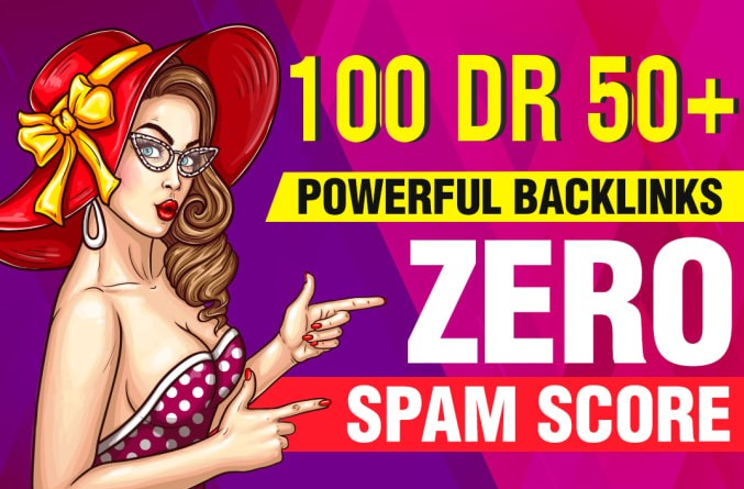 I will provide 100 seo dofollow DR 50 to 70 high quality backlinks
