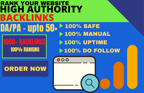 1000 backlinks BUY MANUALLY DA 50+ PA 60+ web 2.0 1000 Powerful web2.0 backlinks