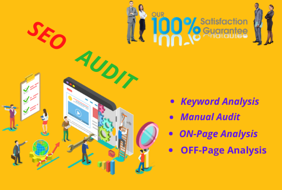 I will provide an expert SEO report AND competitor website audit