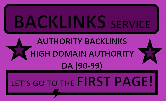 I will do Ranking your website with 10 High Authority SEO Backlinks
