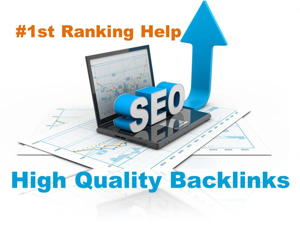 Provide 50 Very High Quality Backlinks,  SEO Link Building First page ranking your website