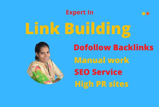 I will do high PR do-follow profile back-link,  link building