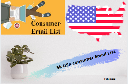 Just 5k USA consumer email list for you