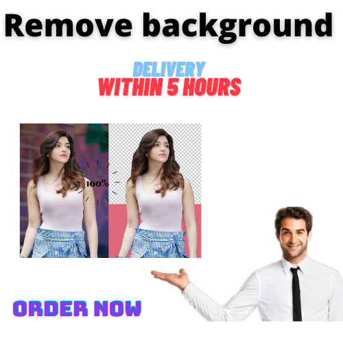 I will remove 20 images background and make white background