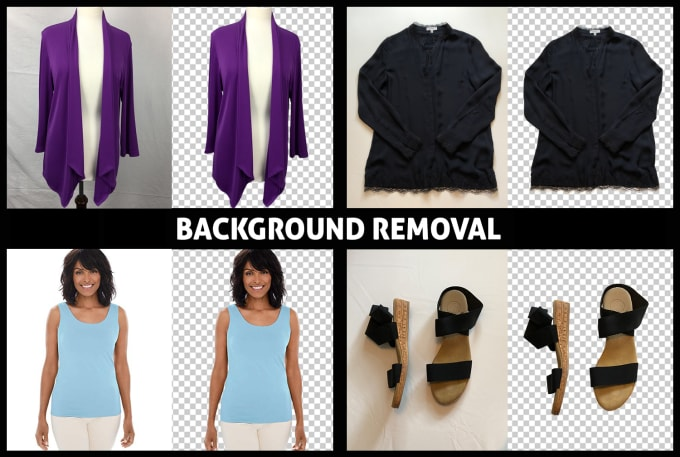 I will do background removal,  photo retouching,  and photoshop editing