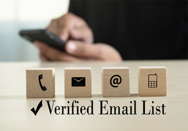 I will collect niche based verified 15k email list