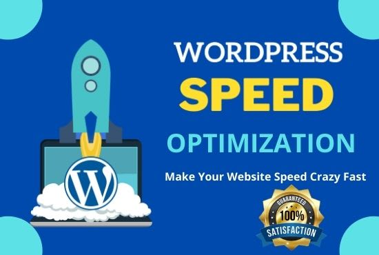 I will increase WordPress speed optimization or page loading speed