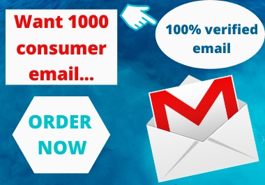 I Will Generate 1K Valid Email