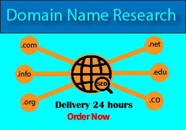 I will research unique and branded domain name for your Business