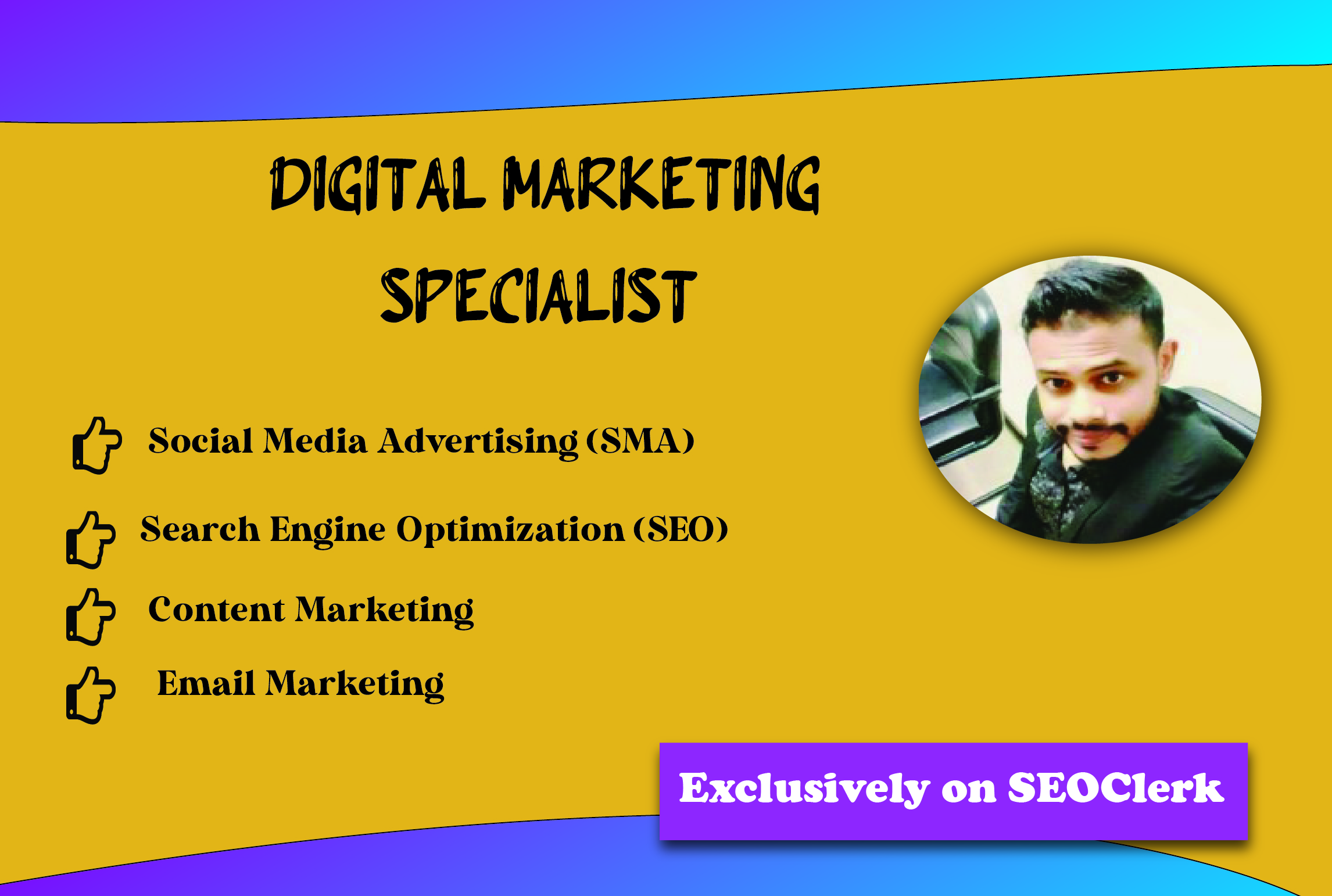 I Will Be Your Digital Marketer And Graphics Designer