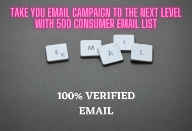 I Will Provide 500 Active Email List For Email Marketing