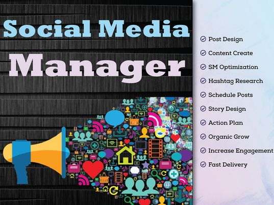 I will be Your Professional Social Media Manager and Content Creator