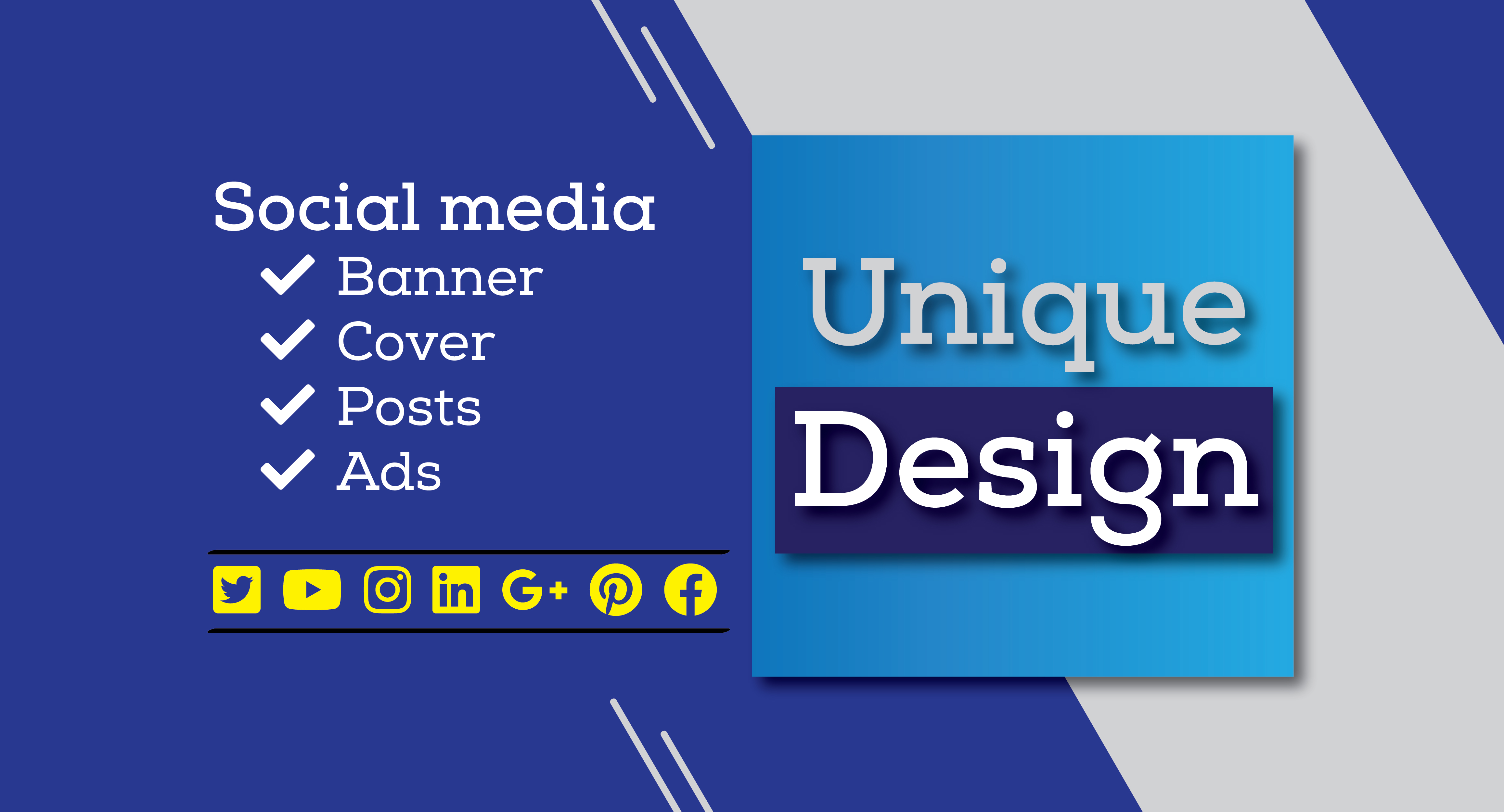 I will Create and Design any Social Media Post and Cover