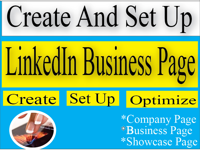 I Will Create Your Company Modern LinkedIn Business Page