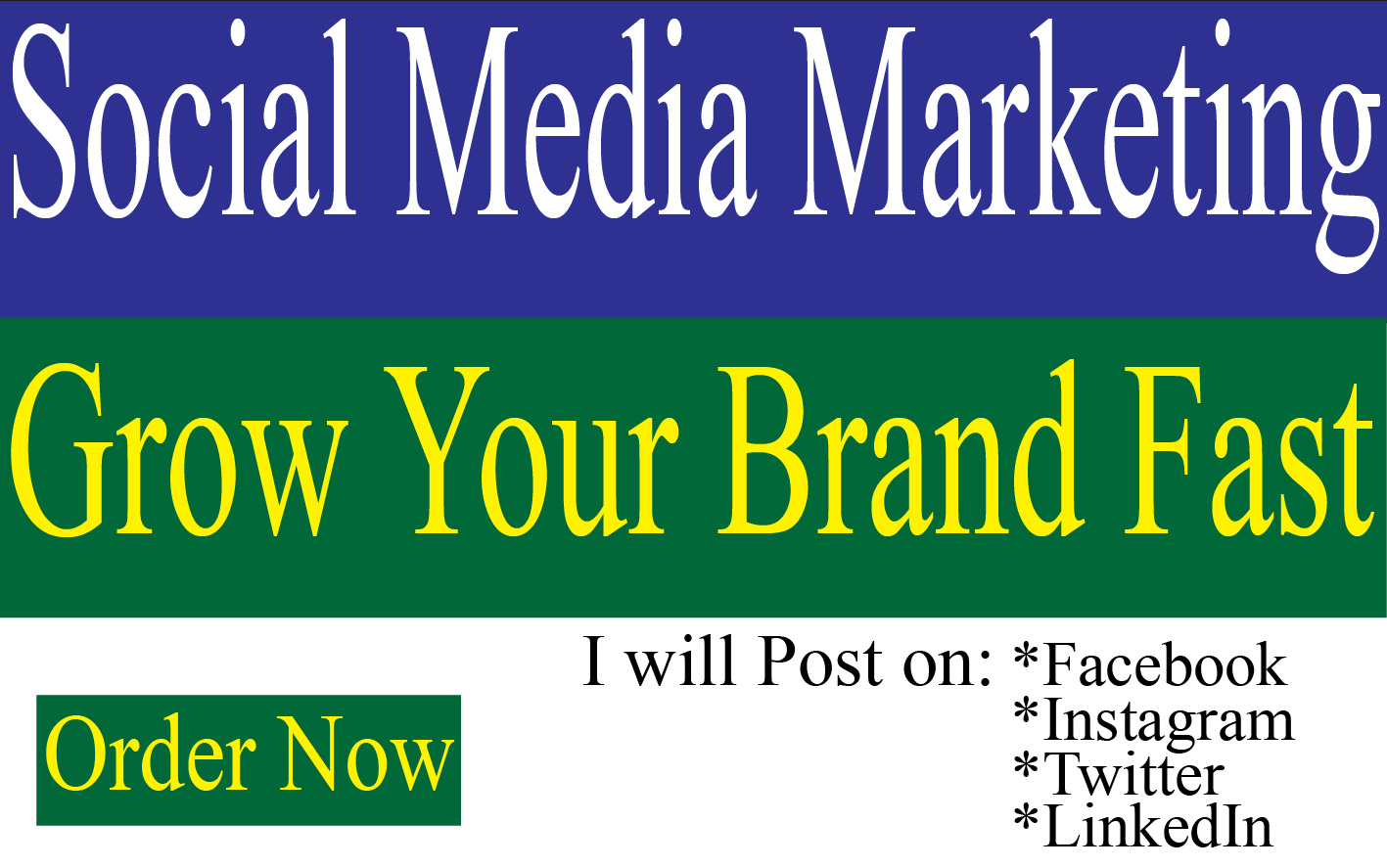 I will Advertise,  Share and Promote your Business on Social Media to Success