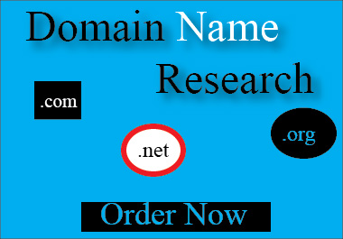I will Find & Research High Quality Domain Name