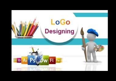 I will design creative and professional logo for you