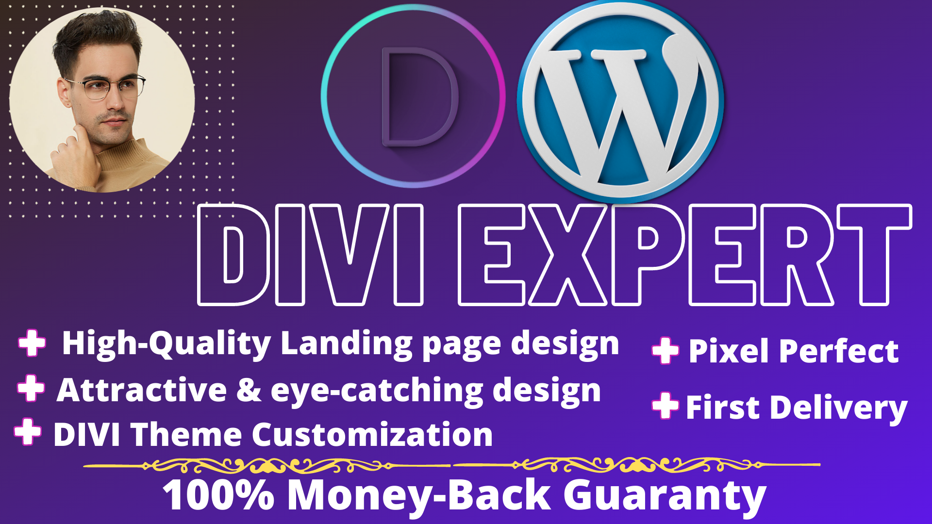 I will make high quality landing page with divi in 24 hours