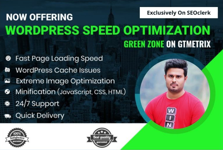 I will do WordPress website speed optimization and increase page loading speed