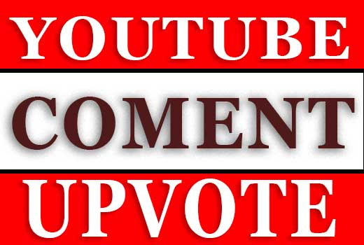 YOUTUBE VIDEO COMMENTSUPVOTE, CHEEP RATE
