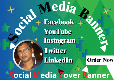 I will design professional Facebook/Twitter or any social media cover photo and banner.