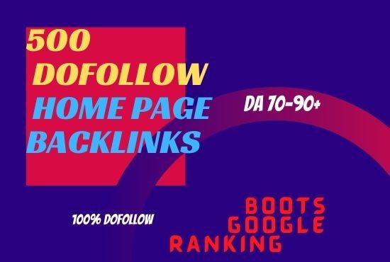 I will provide 250 do follow backlinks of DA 90 plus