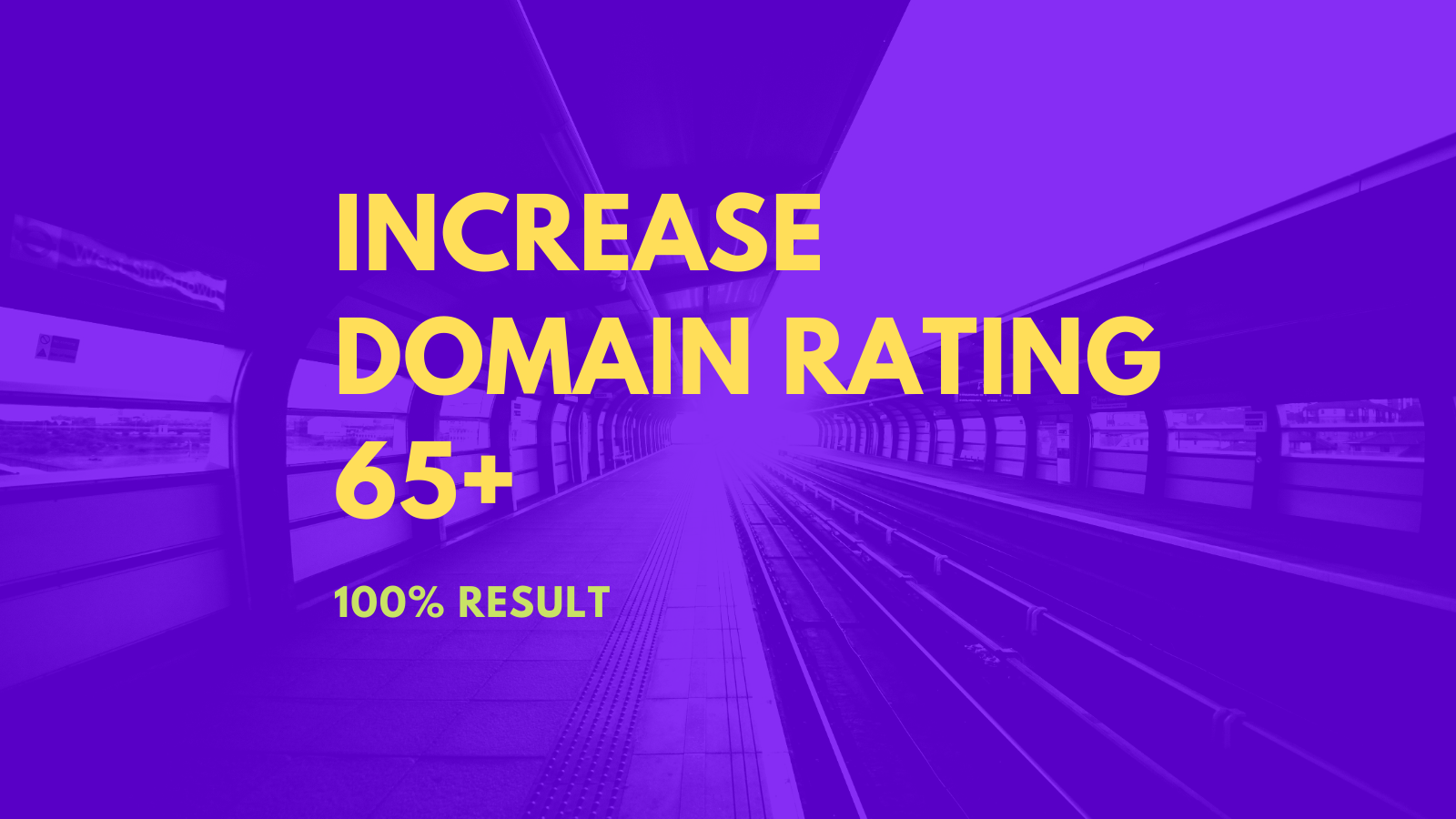 I will Increase ahref Domain Rating 60 plus with manually backlinks