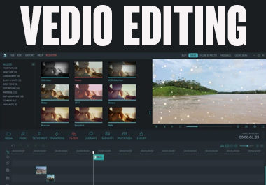 edit professional videos on filmora