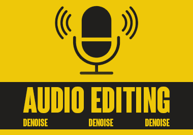 repair,  clean up,  edit,  denoise your audio file using adobe audition and audacity