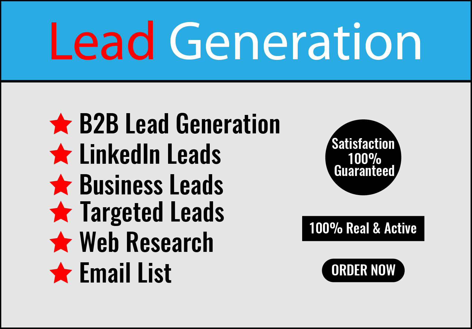 I will do b2b targeted linkedin lead generation
