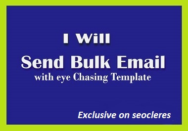 I will do 2k bulk email collect or create Mailchimp template campaigns.