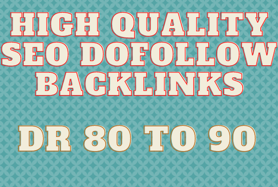 Create 120 high quality dofollow backlinks link building for seo service