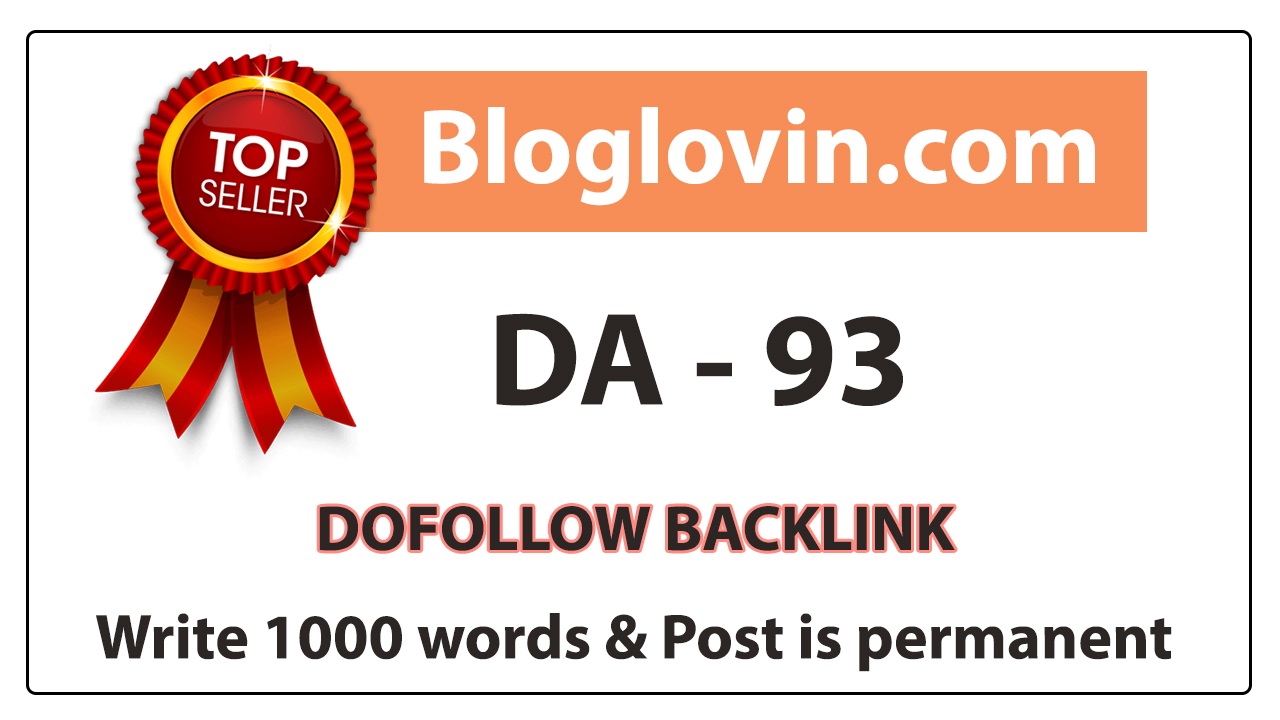 Write and Publish a High Quality Guest Post on BLOGLOVIN. COM