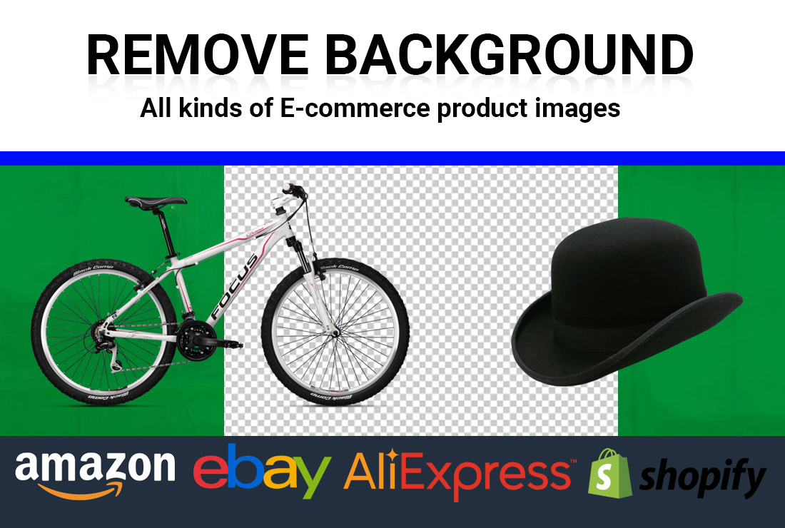 I will remove background of 100 products