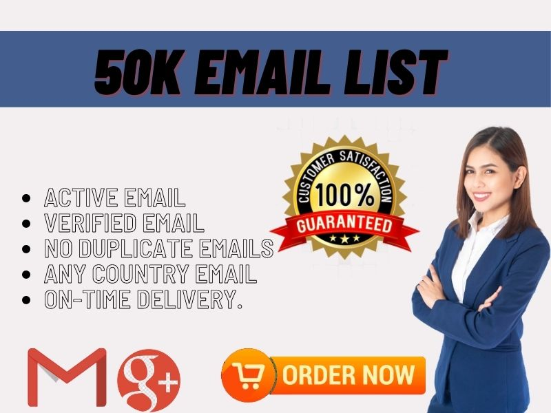 I will collect niche target 30k email list