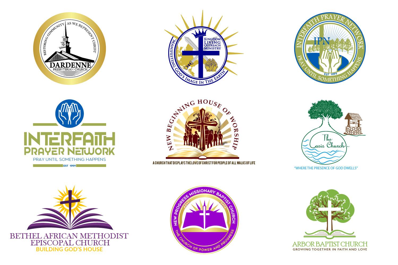 I will design modern minimalist church religious or ministry logo