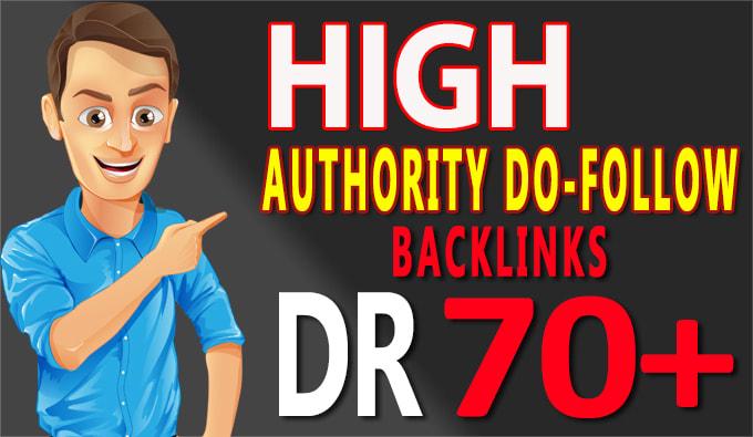 I will do best seo high DR backlinks