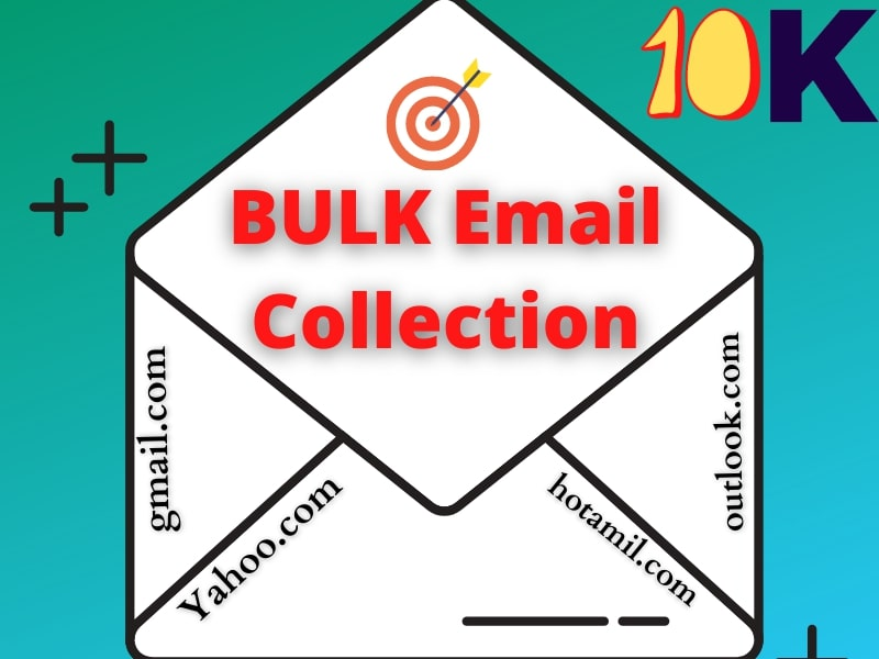 10k Targeted Valid Bulk Email Collection