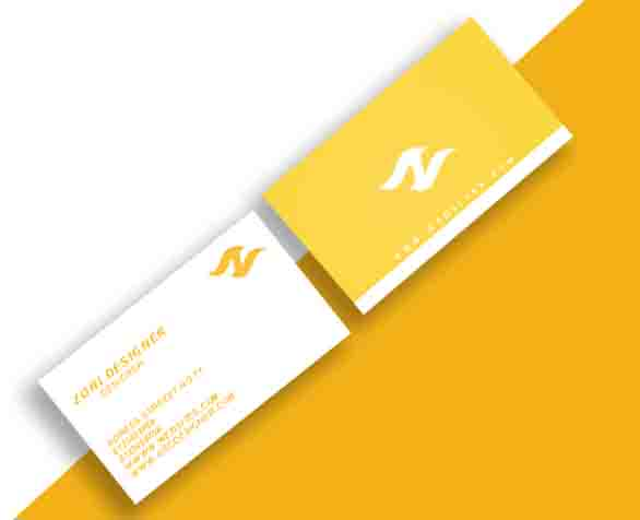 I will design modern business cards.