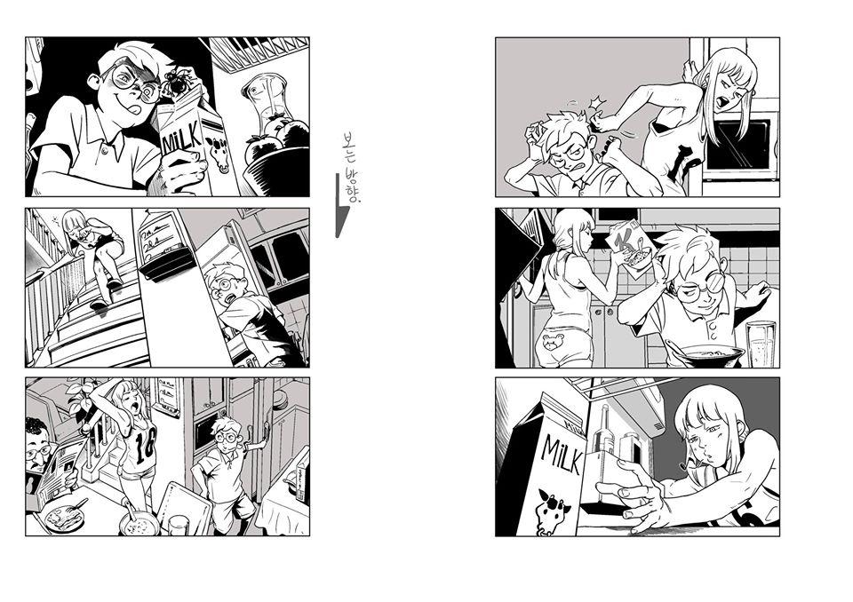 I will turn your script into an amazing manga or manhwa storyboard