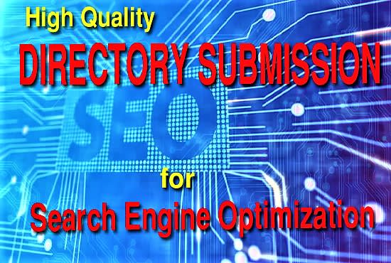 I will do 450 high quality do follow directory submission for SEO