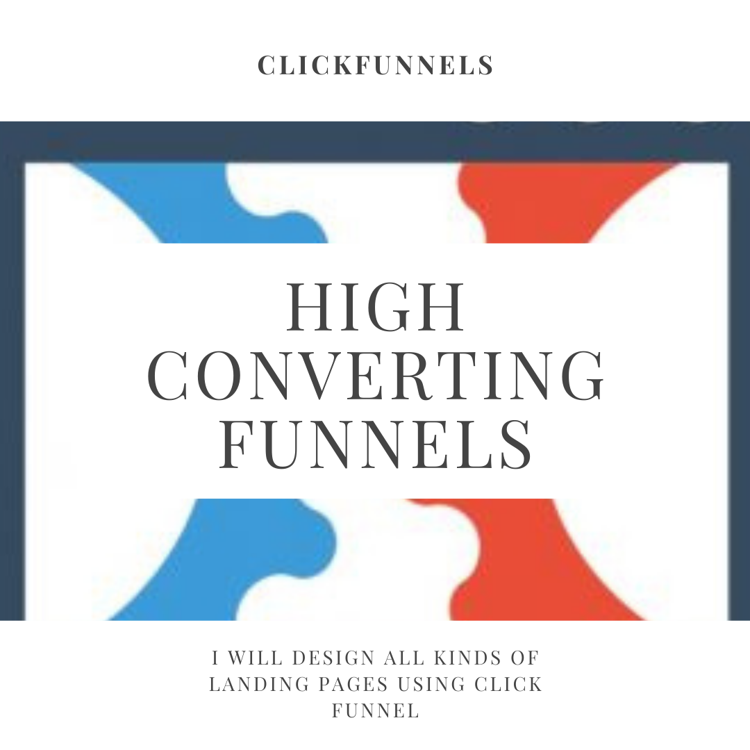 I will setup click funnels landing and sales funnel in 48 hours
