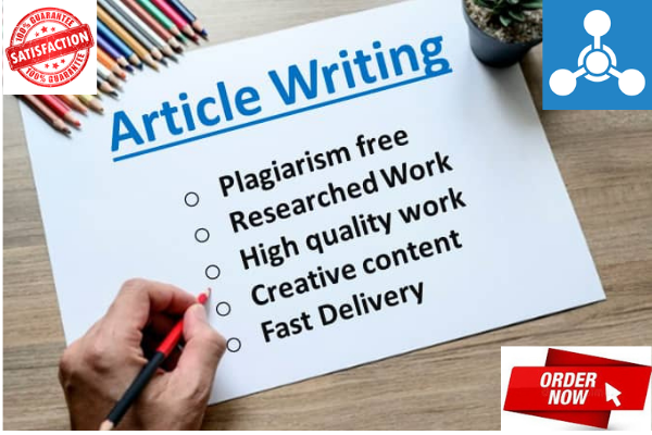 I will write captivating SEO articles,  website contents and blog posts