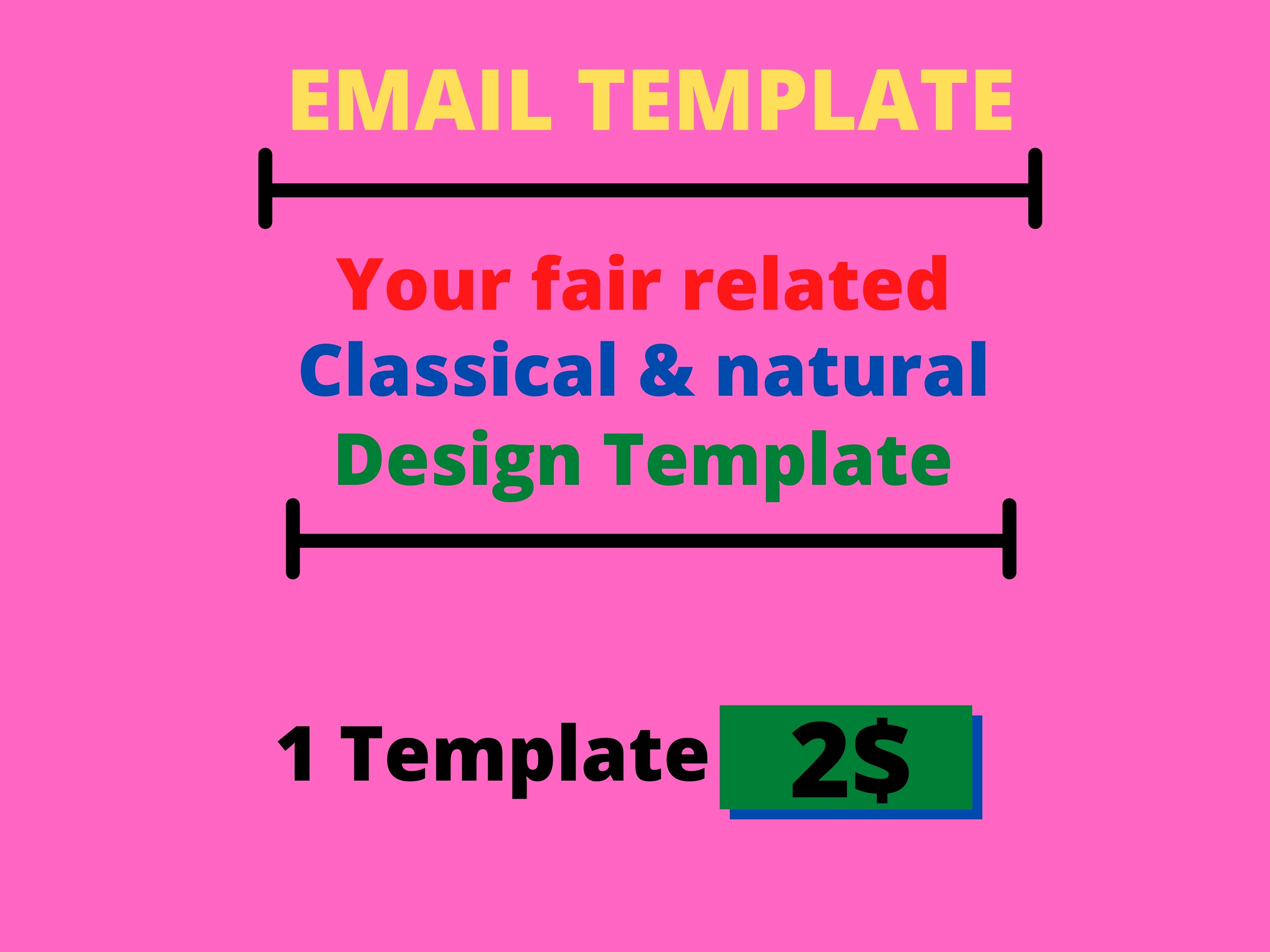 I will present you fair related Classic & natural Design Template