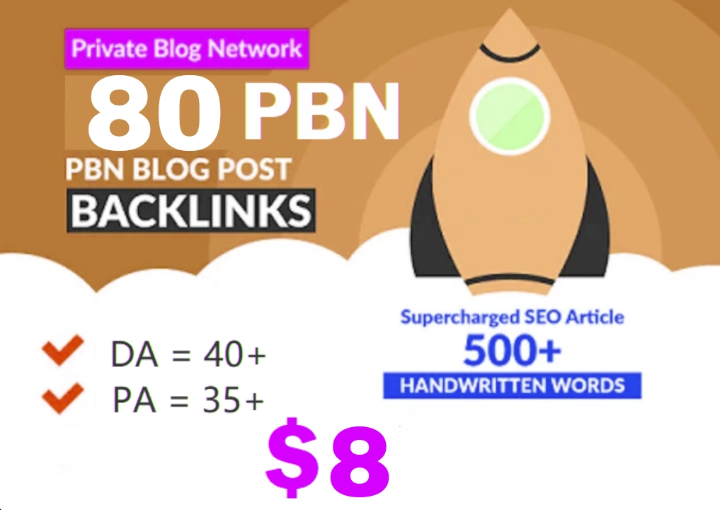I will do 80+ Permanent Blog Post on developed ended web 2.0s blog for your site