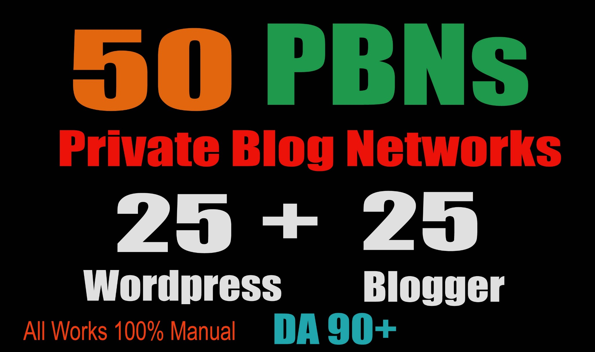 Develop 50+ Baclink, web 2.0 and Dofollow with high DA/PA in your page with amazing website